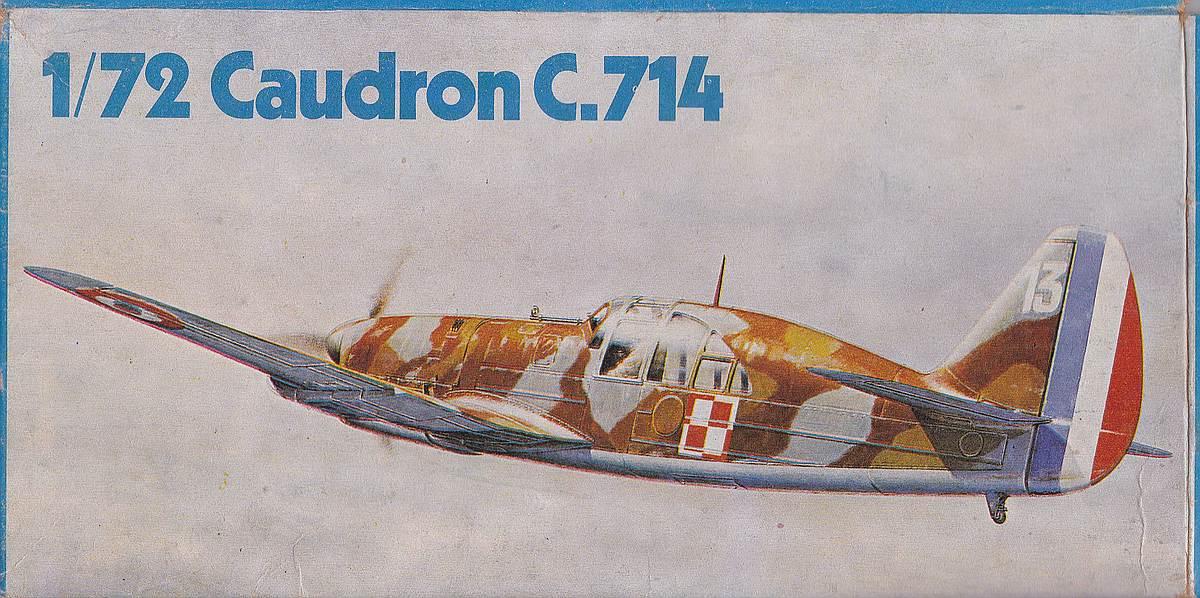 Heller-218-Caudron-C-17 Kit-Archäologie: Caudron C.714 im Maßstab 1:72 von Heller