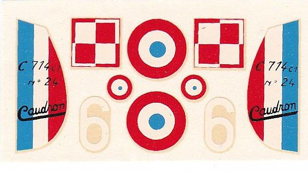 Heller-218-Caudron-C-2 Kit-Archäologie: Caudron C.714 im Maßstab 1:72 von Heller