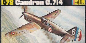Kit-Archäologie: Caudron C.714 im Maßstab 1:72 von Heller