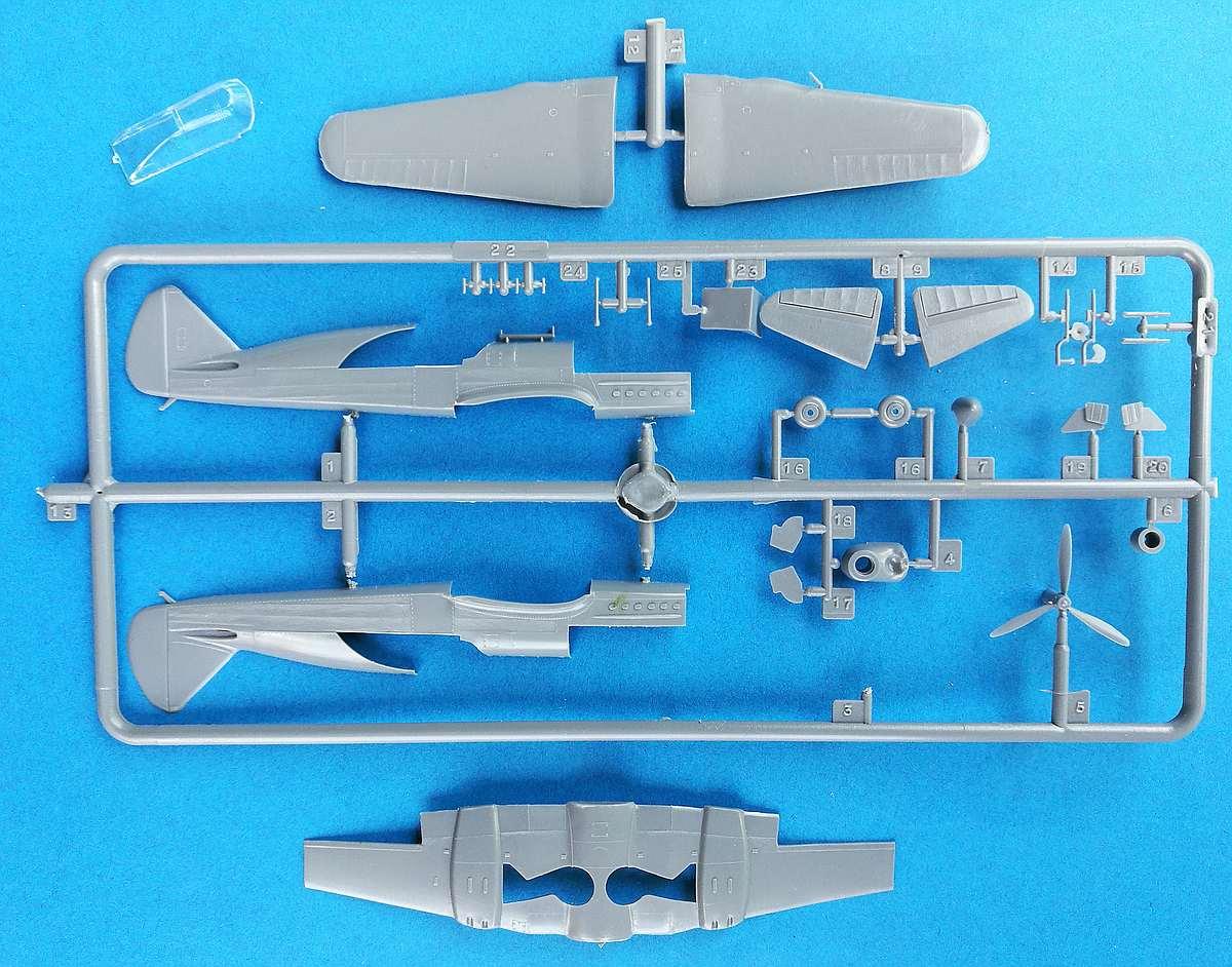 Heller-218-Caudron-C-3 Kit-Archäologie: Caudron C.714 im Maßstab 1:72 von Heller