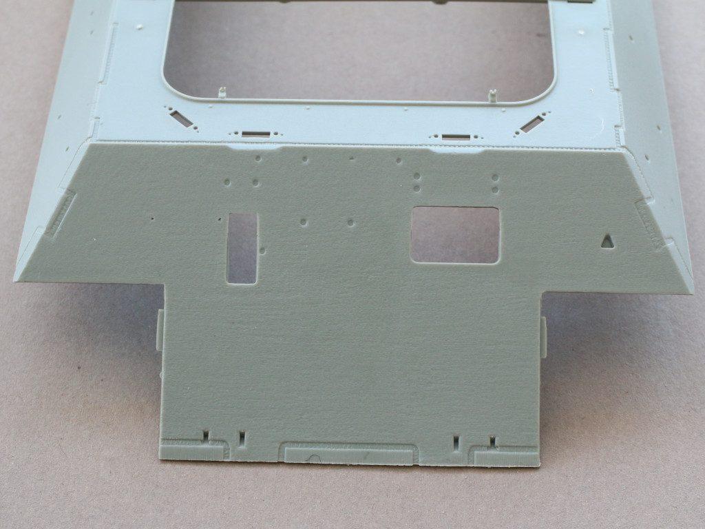 Oberwanne-1-1024x768 Bergepanther Ausf. A Assembled by Demag 1:35 Takom (#2101)