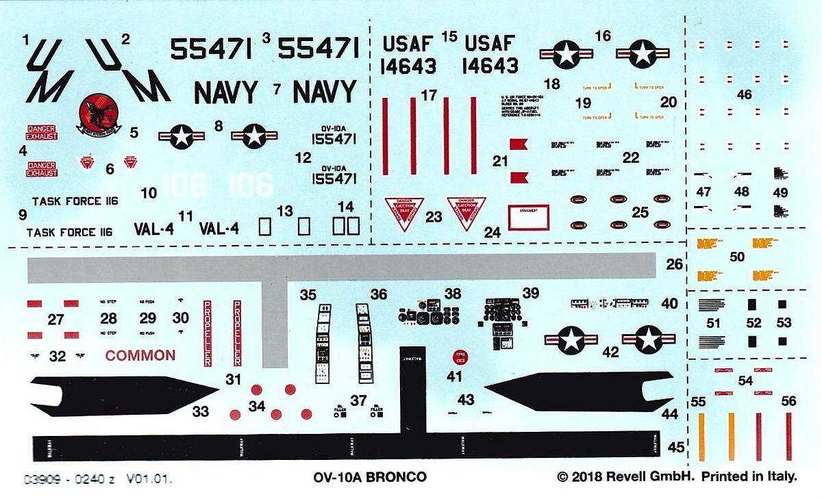 Revell-03909-OV-10A-Bronco-17 OV-10A Bronco im Maßstab 1:72 von Revell 03909