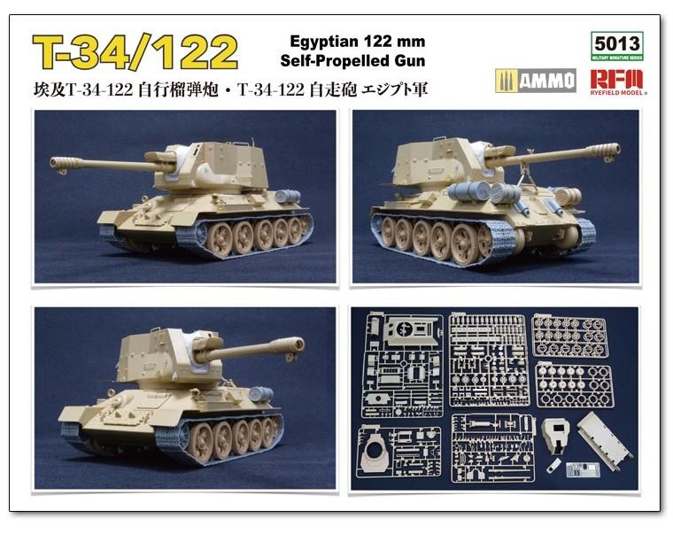 RyeFieldModel-T-34-122-Preview-2 Vorschau auf den neuen T-34/122 im Maßstab 1:35 von Rye Field Miniatures RFM