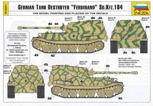 Zvezda-5401-German-Tank-Destroyer-Ferdinand-17-300x209 Zvezda 5401 German Tank Destroyer Ferdinand (17)