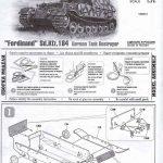Zvezda-5401-German-Tank-Destroyer-Ferdinand-19-150x150 Panzerjäger Ferdinand im Maßstab 1:72 von Zvezda 5401
