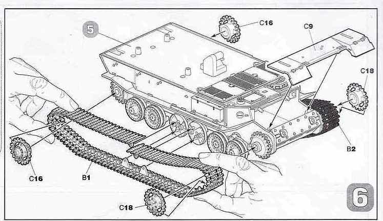 Zvezda-5401-German-Tank-Destroyer-Ferdinand-20 Panzerjäger Ferdinand im Maßstab 1:72 von Zvezda 5401