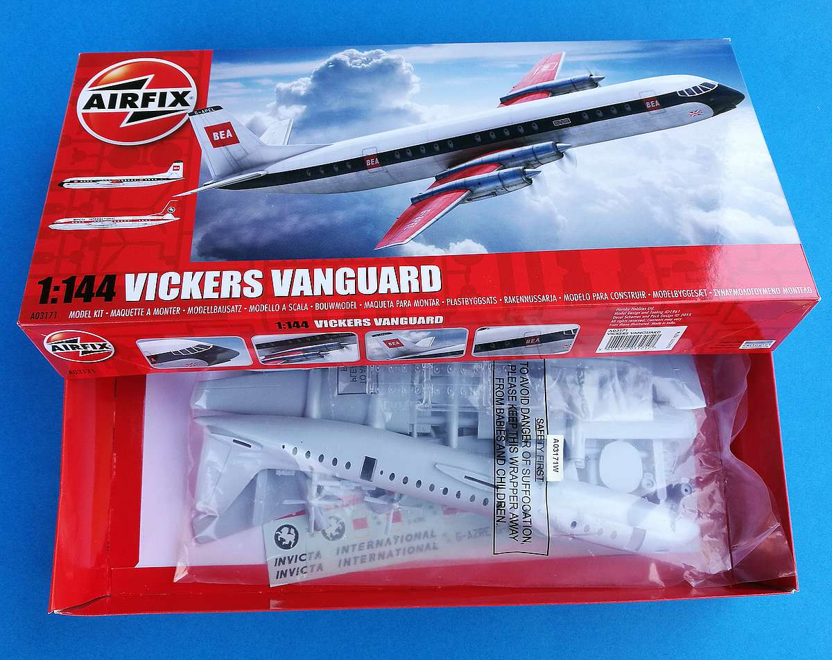 Airfix-A03171-Vickers-Vanguard-10 Vickers Vanguard im Maßstab 1:144 von Airfix A03171