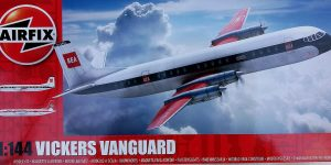 Vickers Vanguard im Maßstab 1:144 von Airfix A03171
