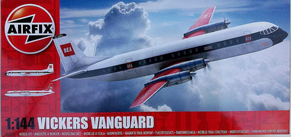 Airfix-A03171-Vickers-Vanguard-22 Vickers Vanguard im Maßstab 1:144 von Airfix A03171