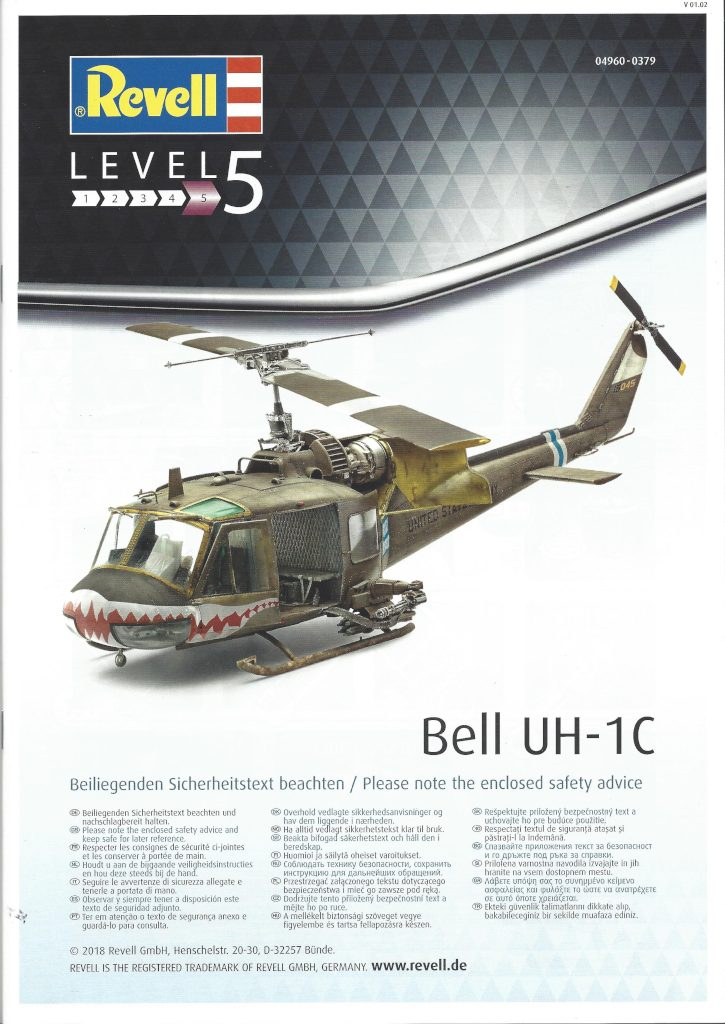 Anleitung01-3-725x1024 Bell UH-1C 1:35 Revell (#04960)