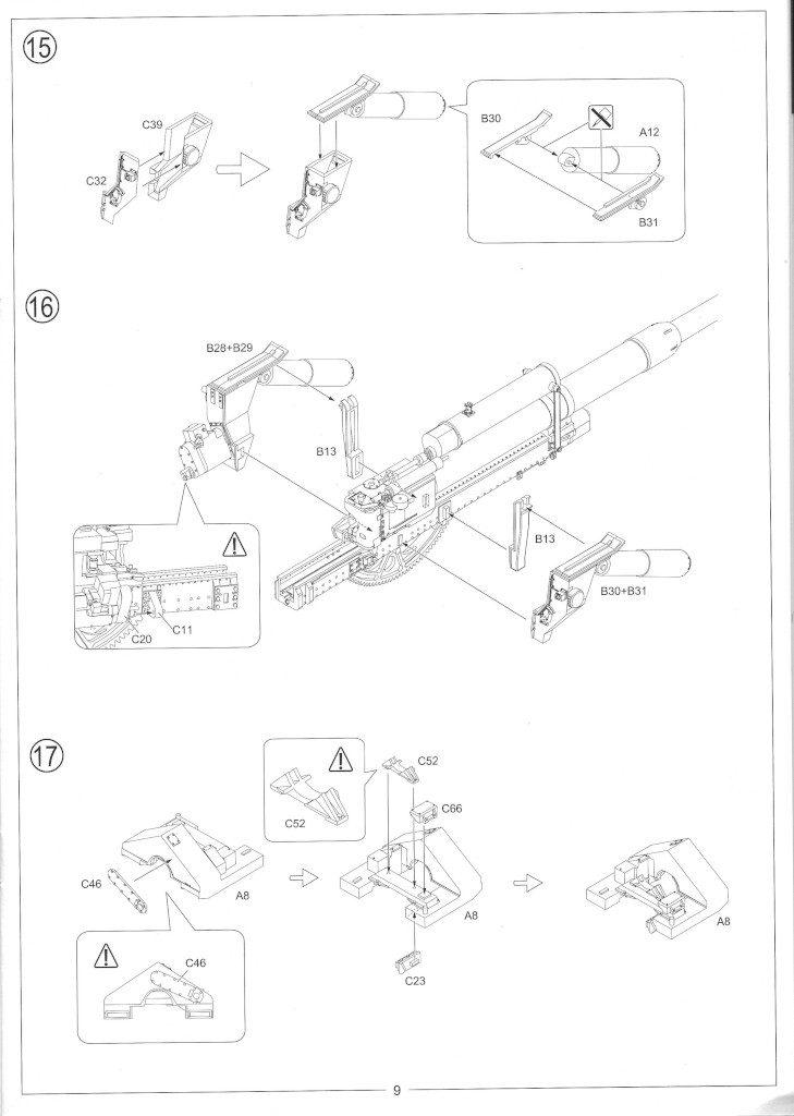 Anleitung11-729x1024 12.8cm Flak 40 & FuMG 39D 1:35 Amusing Hobby (#35A020)