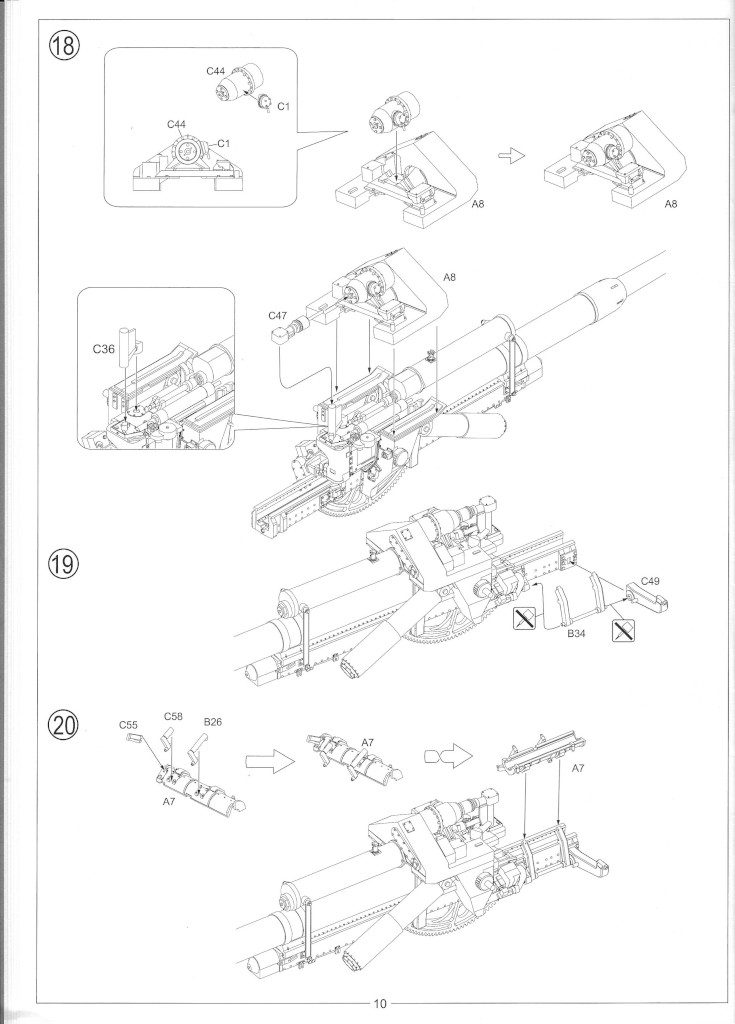 Anleitung12-735x1024 12.8cm Flak 40 & FuMG 39D 1:35 Amusing Hobby (#35A020)