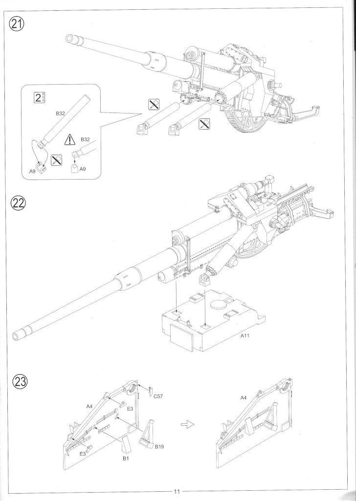 Anleitung13-728x1024 12.8cm Flak 40 & FuMG 39D 1:35 Amusing Hobby (#35A020)