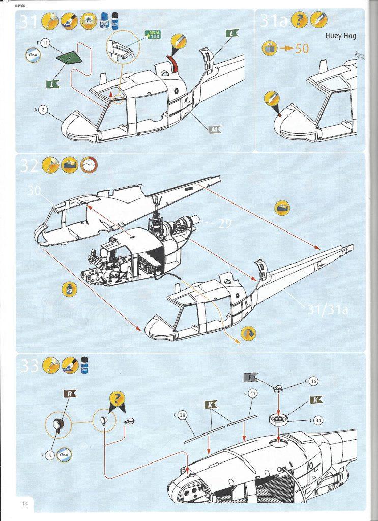 Anleitung14-2-743x1024 Bell UH-1C 1:35 Revell (#04960)