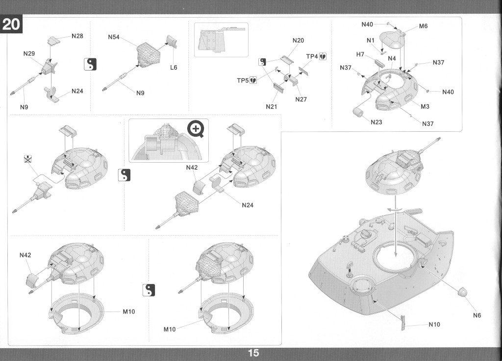 Anleitung16-1-1024x737 M60A1 w/Explosive Reactive Armor 1:35 Takom (2113)