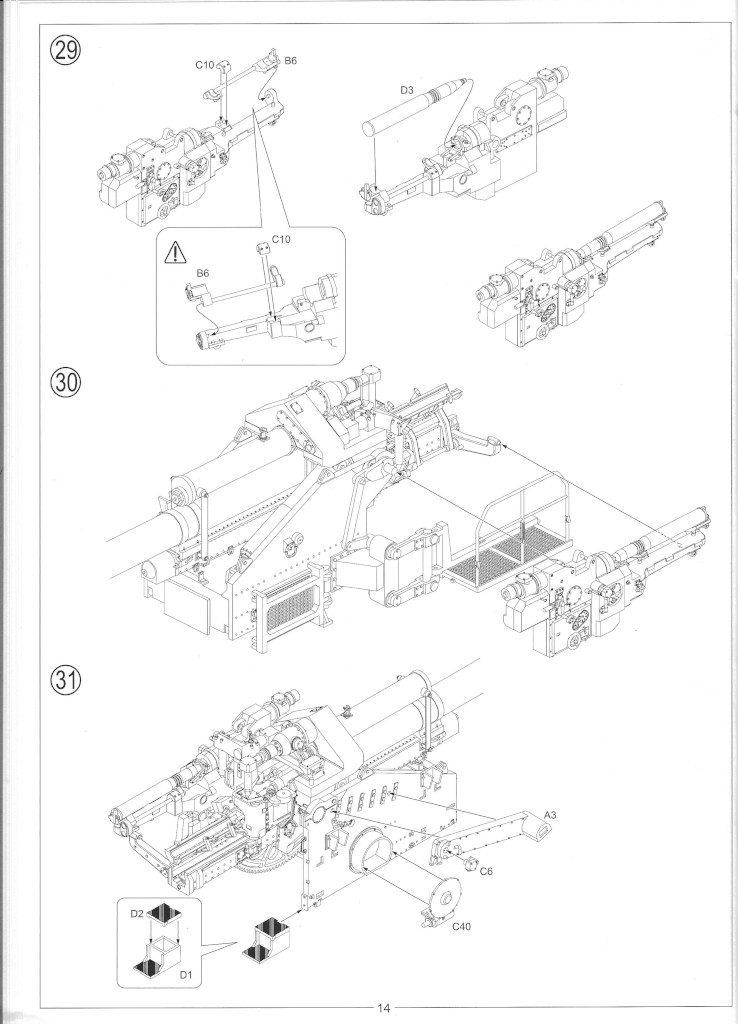 Anleitung16-738x1024 12.8cm Flak 40 & FuMG 39D 1:35 Amusing Hobby (#35A020)