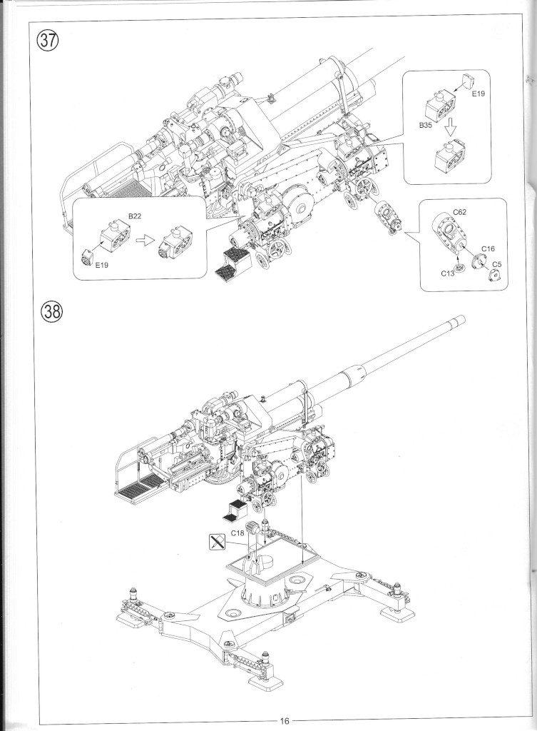 Anleitung18-753x1024 12.8cm Flak 40 & FuMG 39D 1:35 Amusing Hobby (#35A020)