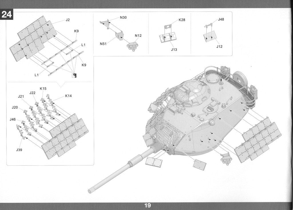 Anleitung20-1-1024x733 M60A1 w/Explosive Reactive Armor 1:35 Takom (2113)