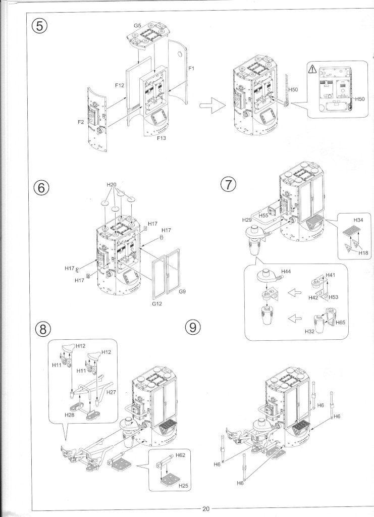 Anleitung22-741x1024 12.8cm Flak 40 & FuMG 39D 1:35 Amusing Hobby (#35A020)