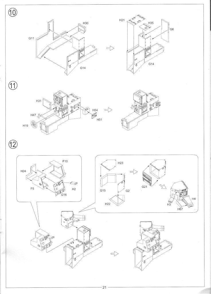Anleitung23-736x1024 12.8cm Flak 40 & FuMG 39D 1:35 Amusing Hobby (#35A020)