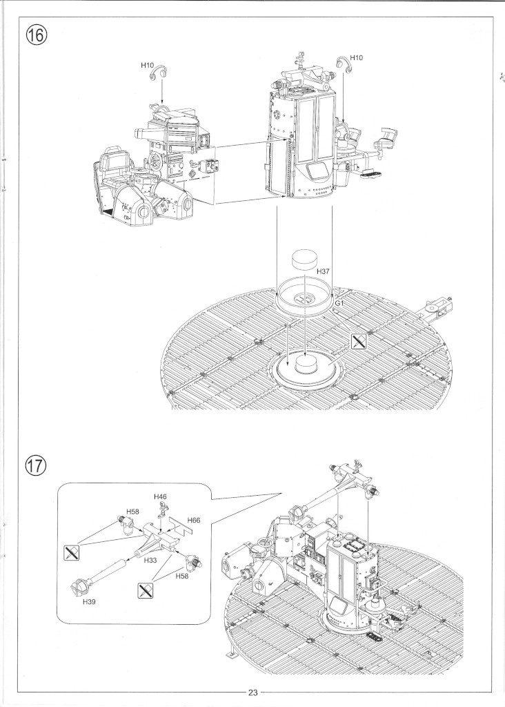 Anleitung25-732x1024 12.8cm Flak 40 & FuMG 39D 1:35 Amusing Hobby (#35A020)
