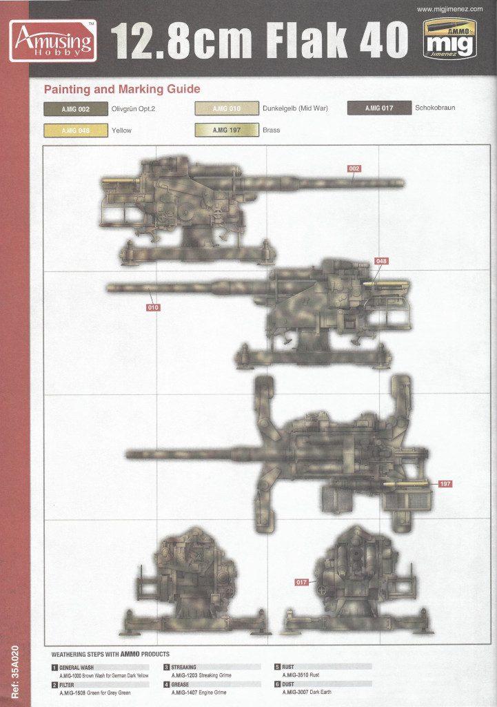 Anleitung30-721x1024 12.8cm Flak 40 & FuMG 39D 1:35 Amusing Hobby (#35A020)