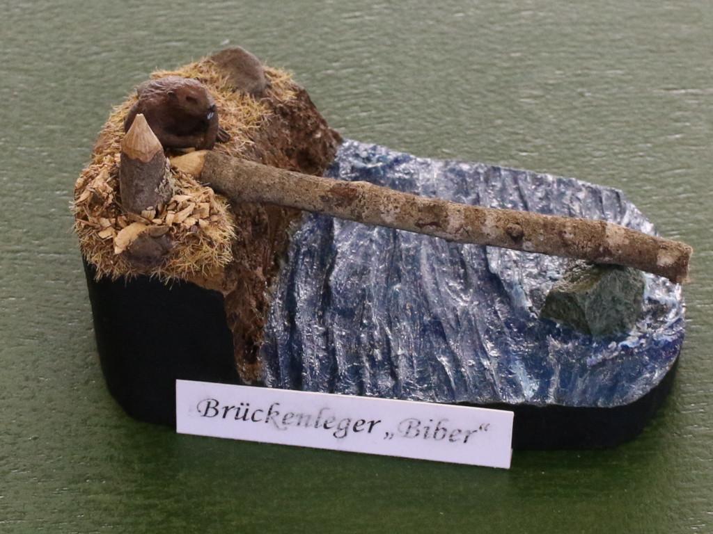 Biber 26. Modellbauausstellung des PMC-Saar in Merchweiler am 14.10.18