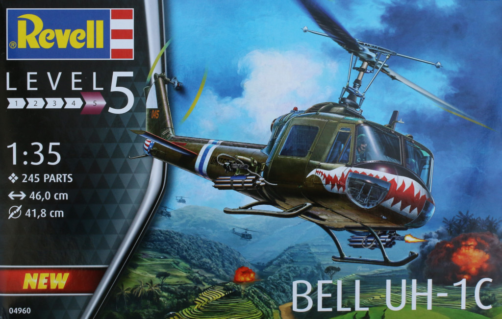 Box-2 Bell UH-1C 1:35 Revell (#04960)