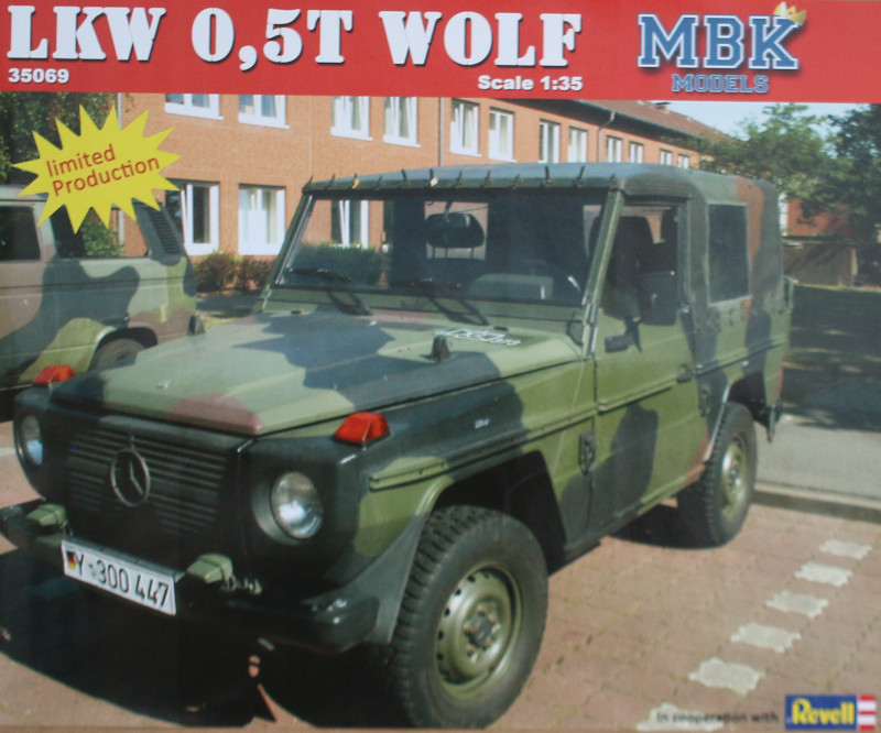 Box LKW 0,5t Wolf 1:35 MBK Models (#35069)