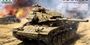 M60A1 w/Explosive Reactive Armor 1:35 Takom (2113)