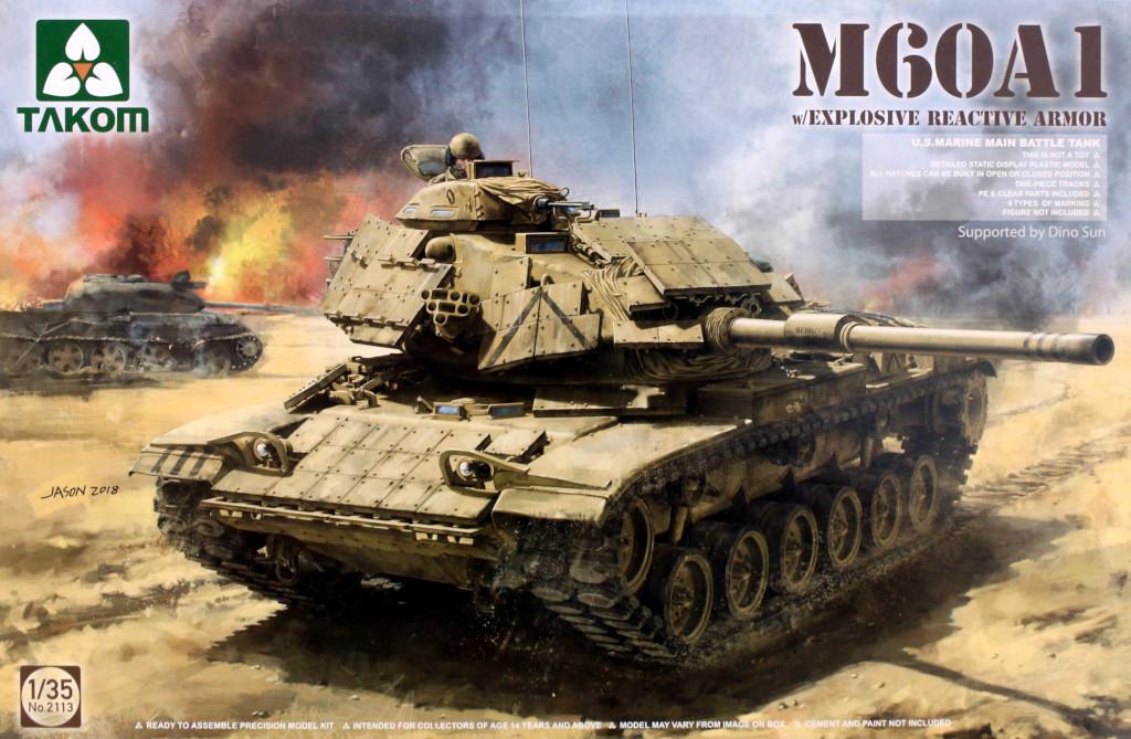 Boxart-1 M60A1 w/Explosive Reactive Armor 1:35 Takom (2113)