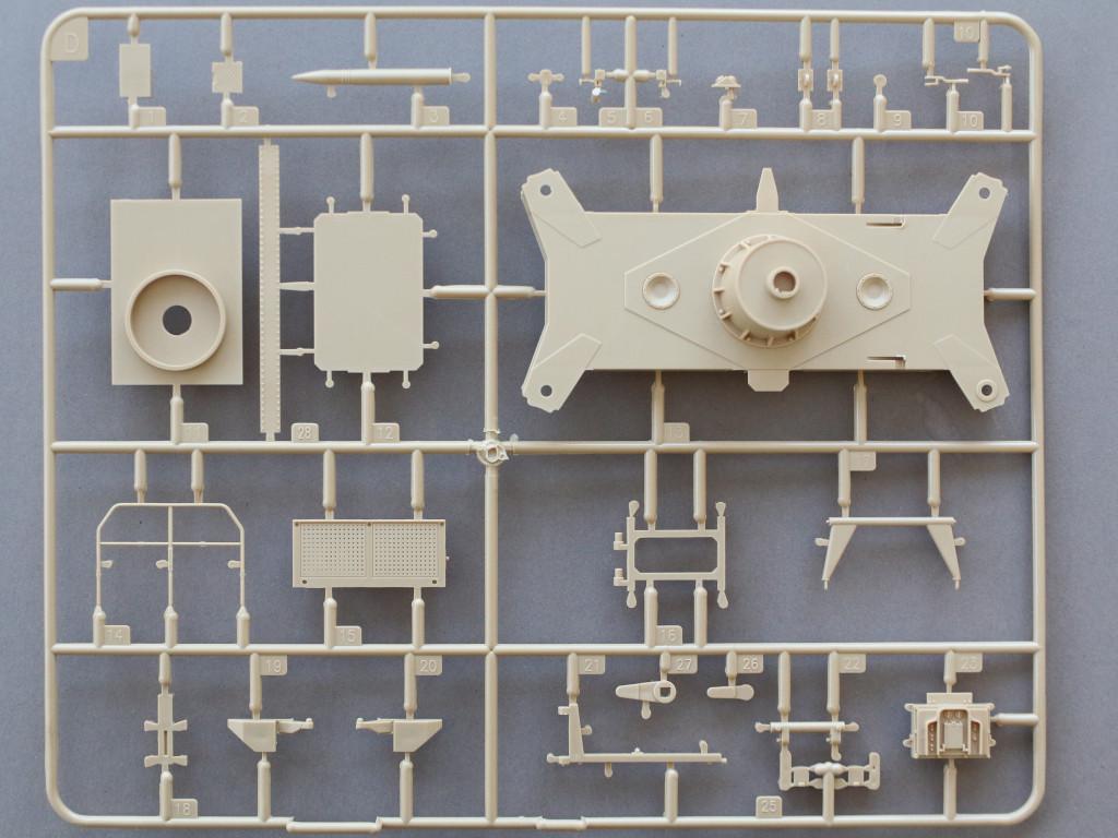 D-4 12.8cm Flak 40 & FuMG 39D 1:35 Amusing Hobby (#35A020)