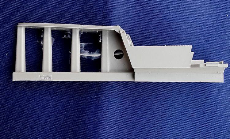 Eduard-632056-Fw-190-F-8-BRASSIN-2 BRASSIN Cockpitset für die FW 190 F-8 von Revell  (Eduard 632056 )