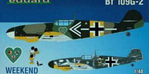 BF 109G-2 – Eduard Weekend – 1/48