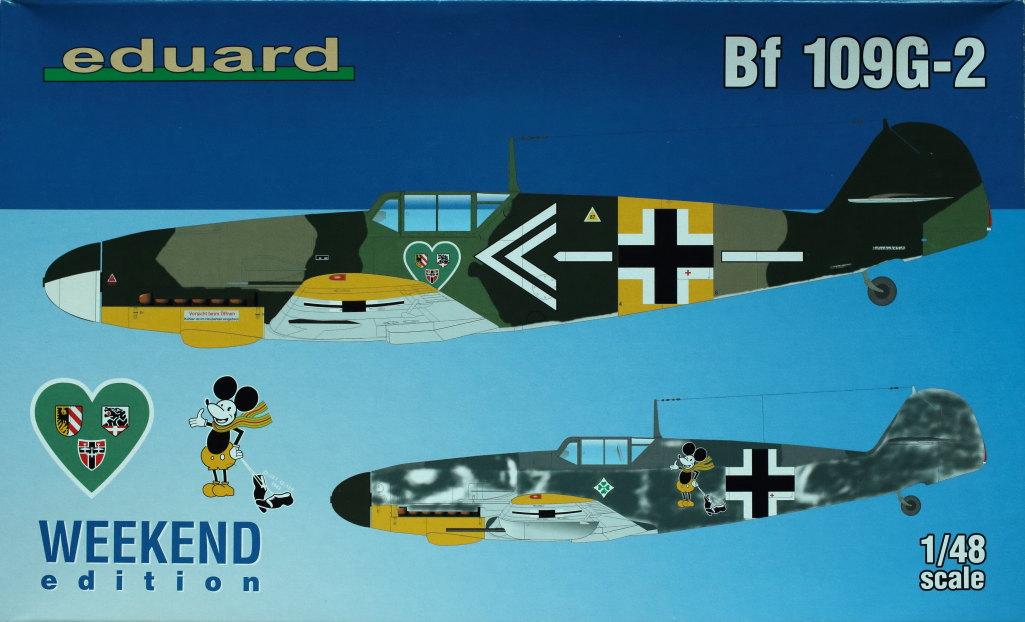 Eduard_BF-109-G2_Weekend2018_01 BF 109G-2 - Eduard Weekend - 1/48
