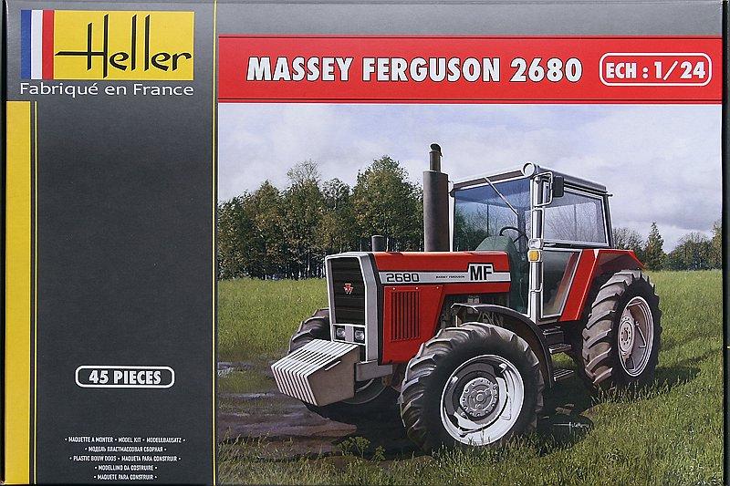 Heller-81402-Massey-Ferguson-2680-1 Massey Ferguson im Maßstab 1/24 von Heller 2680