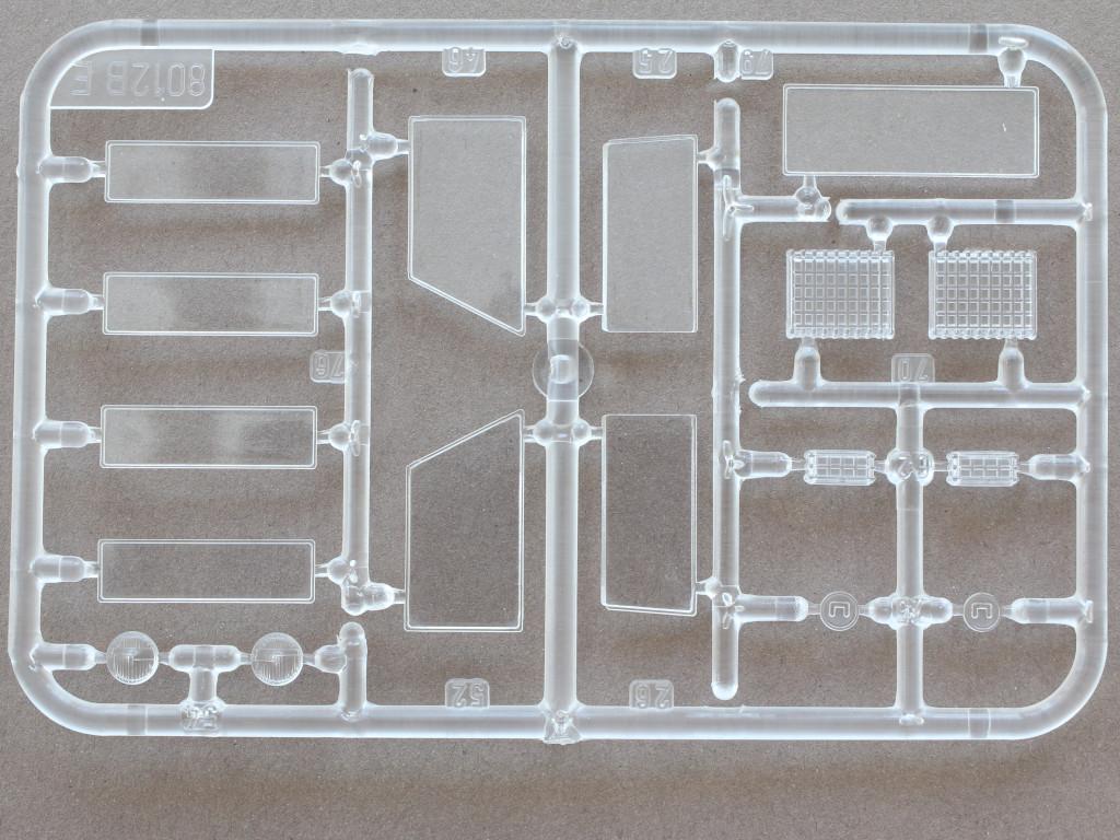 Klarsichtteile-1 Land Rover 109' LWB 1:35 Italeri (#6508)