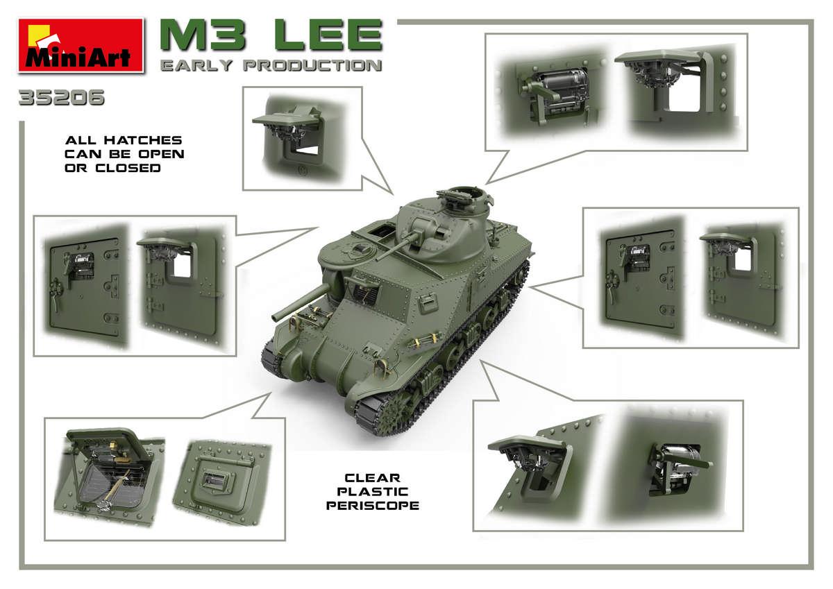 MiniArt-35206-M3-Lee-Preview-10 Vorschau auf den neuen M3 Lee von MiniArt im Maßstab 1:35