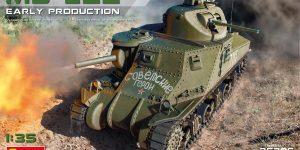 Vorschau auf den neuen M3 Lee von MiniArt im Maßstab 1:35
