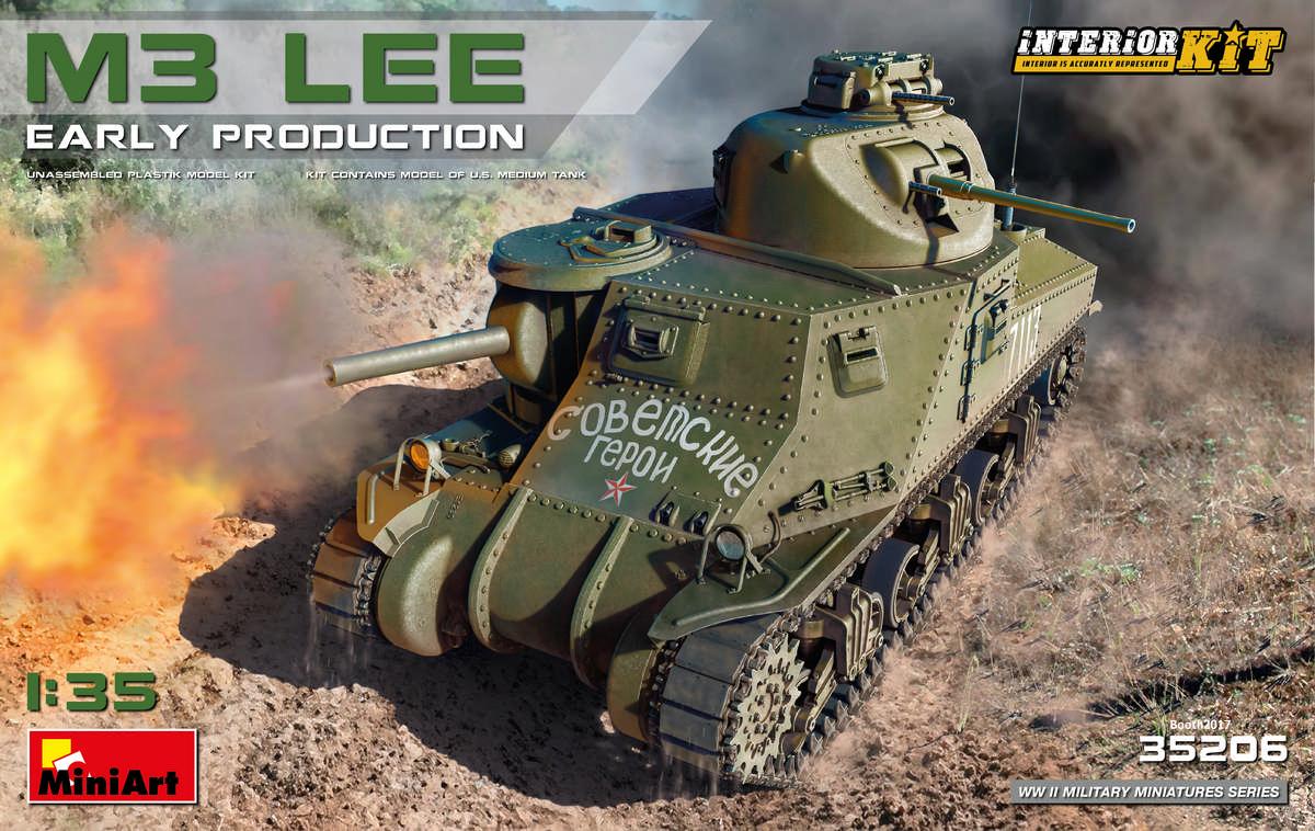 MiniArt-35206-M3-Lee-Preview-13 Vorschau auf den neuen M3 Lee von MiniArt im Maßstab 1:35
