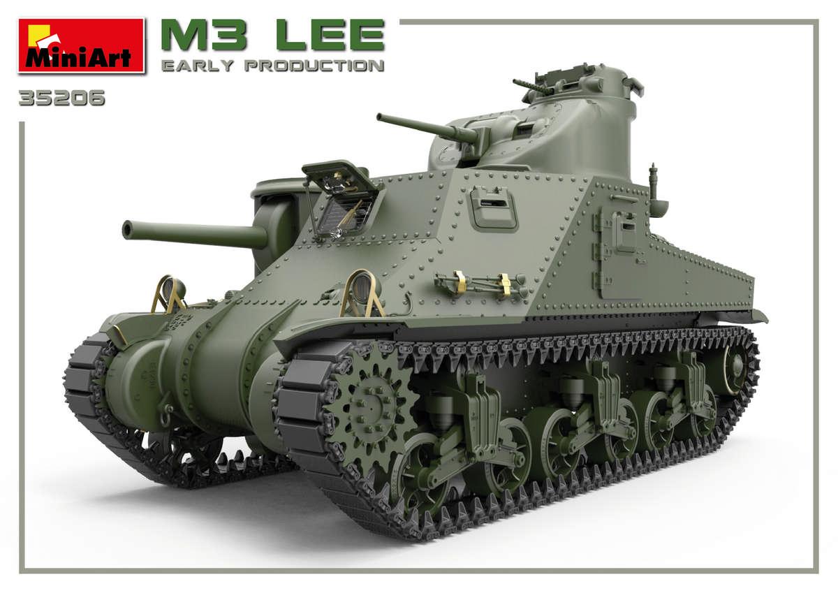 MiniArt-35206-M3-Lee-Preview-14 Vorschau auf den neuen M3 Lee von MiniArt im Maßstab 1:35