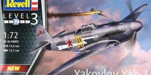 Yakovlev Yak-3 (Jak-3) im Maßstab 1:72 von Revell 03894