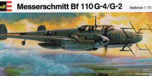 Kit-Archäologie – heute: Messerschmitt Bf 110 G-4 im Maßstab 1:72 von Revell H-95