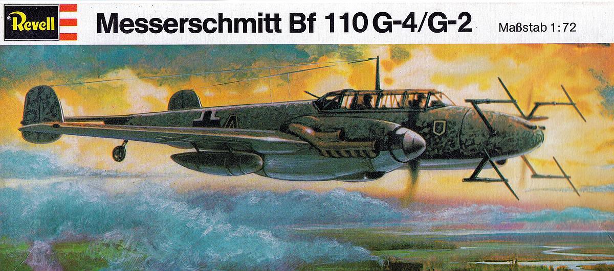 Revell-H-95-Messerschmitt-Bf-110-G-4-1 Kit-Archäologie - heute: Messerschmitt Bf 110 G-4 im Maßstab 1:72 von Revell H-95
