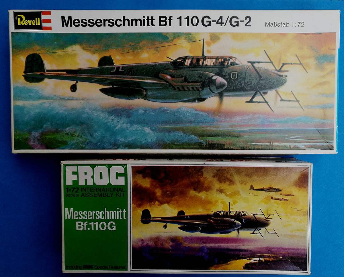Revell-H-95-Messerschmitt-Bf-110-G-4-29 Kit-Archäologie - heute: Messerschmitt Bf 110 G-4 im Maßstab 1:72 von Revell H-95