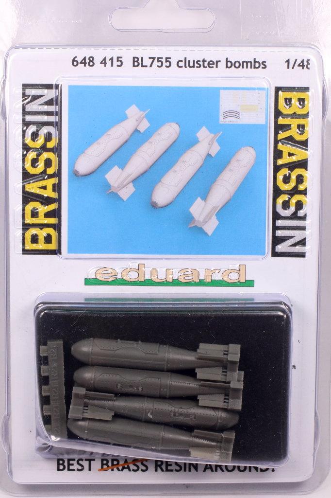 Review_Eduard_BL755_08 BL755 Cluster Bombs - Eduard BRASSIN - 1/48
