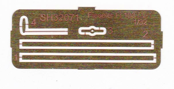 Special-Hobby-SH-32071-Fieseler-Fi-103-V1-Ätzteile Fieseler Fi 103 V1 in 1:32 von Special Hobby SH 32071