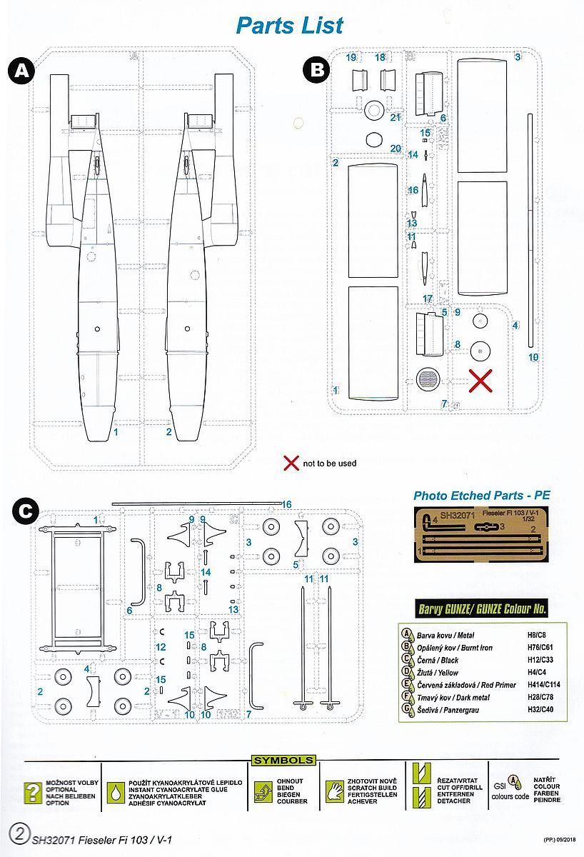 Special-Hobby-SH-32071-Fieseler-Fi-103-V1-Bauanleitung-2 Fieseler Fi 103 V1 in 1:32 von Special Hobby SH 32071