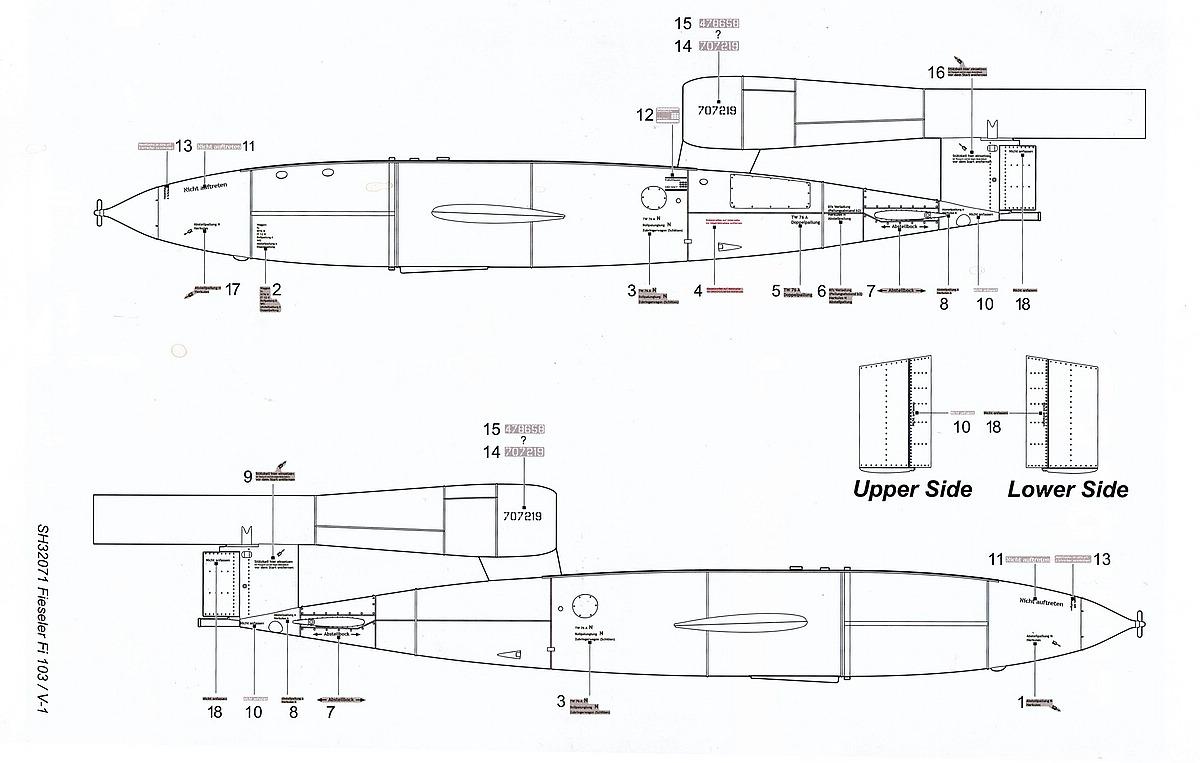 Special-Hobby-SH-32071-Fieseler-Fi-103-V1-Bauanleitung-9 Fieseler Fi 103 V1 in 1:32 von Special Hobby SH 32071