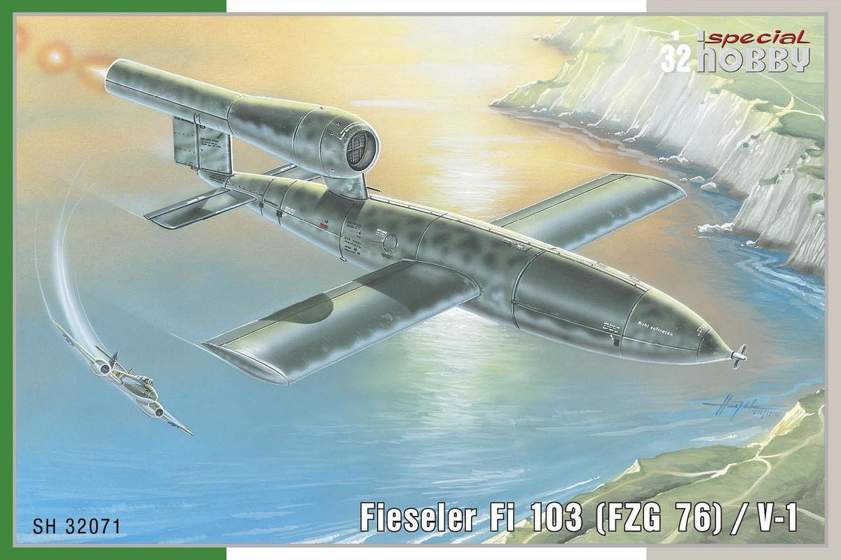 Special-Hobby-SH-32071Fieseler-Fi-103-V1 Fieseler Fi 103 V1 in 1:32 von Special Hobby SH 32071